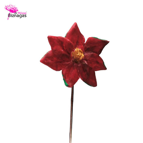 Alfiler-Broche Flor Pascua
